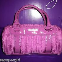 Vera Bradley Barrel Bag Nylon Lilac Microfiber  Excellent Pre Owned Photo