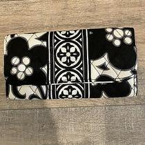 Vera Bradley Beautiful Night & Day / Black and White Magnetic Clutch Wallet Photo