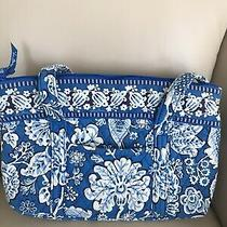 Vera Bradley Big Betsy Handbag/purse Blue Lagoon Retired Euc Photo