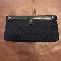 Vera Bradley Black Quilted Clutch  Photo