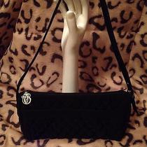Vera Bradley Black Quilted Microfiber Shoulder Bag Photo