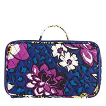 Vera Bradley Blush and Brush Makeup Case in African Violet 13944-165 Photo