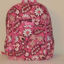 Vera Bradley Blush Pink Campus Backpack  Nwt  Free Shipping Photo