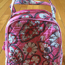 Vera Bradley Blush Pink Floral Print Lunch Bag Insulated Tote Photo