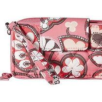 Vera Bradley Blush Pink Smartphone Wristlet for Iphone Cell Phone Carrier New Photo