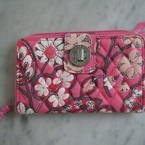 Vera Bradley Blush Pink Turn Lock Wallet Nwot Photo