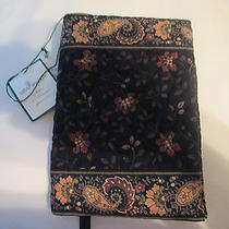 Vera Bradley Book Cover/black Walnut Pattern Photo