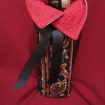 Vera Bradley Bottle Wine Bag Handmade With New Rare Golf Navy Place Mat  Photo