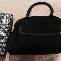 Vera Bradley Bowler Baby Diaper Bag Black Gently Used Photo