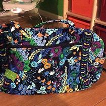 Vera Bradley Brand New Messenger Baby Diaper Bag in Midnight Blues Photo