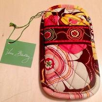 Vera Bradley Buttercup Brown Double Eyeglass  Case Retired Nwt Photo