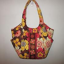 Vera Bradley Buttercup Side by Side Tote Bag Purse Photo