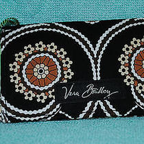 Vera Bradley Caffe (Cafe) Latte Card Holder Nwt Business Credit Gift Cards Rare Photo