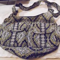 Vera Bradley Cambridge Cargo Sling Crossbody Handbag / Purse - Retired Photo