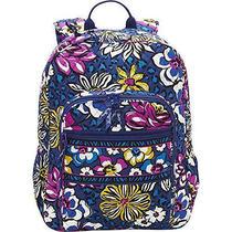 Vera  Bradley   Campus  Backpack   African  Violet   Nwt Photo