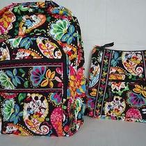 Vera Bradley Campus Backpack and Hipster in Midnight With Mickey Disney Photo