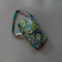 Vera Bradley Cell Phone Cover in Peacock Pattern Nwt Photo