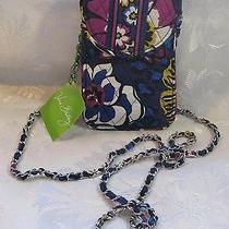 Vera Bradley Cell Phone Crossbody African Violet Photo