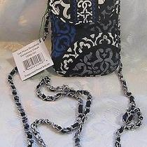 Vera Bradley Cell Phone Crossbody Canterberry Cobalt Photo
