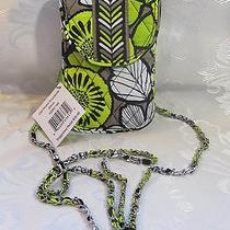 Vera Bradley Cell Phone Crossbody Citron Photo