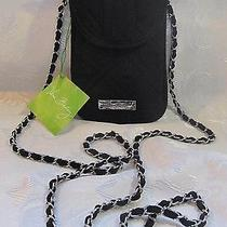 Vera Bradley Cell Phone Crossbody Classic Black Photo