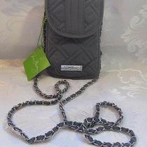 Vera Bradley Cell Phone Crossbody Gray Photo