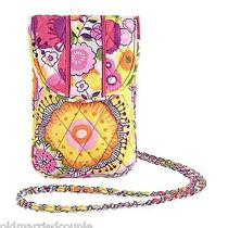 Vera Bradley Cell Phone Crossbody in Clementine Iphone Accessory Nwt 13302-152 Photo