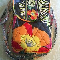 Vera Bradley Cell Phone Crossbody in Jazzy Blooms Photo