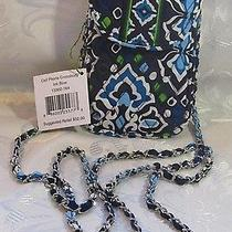Vera Bradley Cell Phone Crossbody Ink Blue Photo