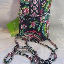 Vera Bradley Cell Phone Crossbody Petal Paisley Photo