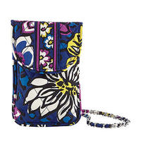 Vera Bradley Cell Phone Crossbody Smartphone Messenger African Violet Photo
