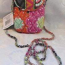 Vera Bradley Cell Phone Crossbody Ziggy Zinnia Photo