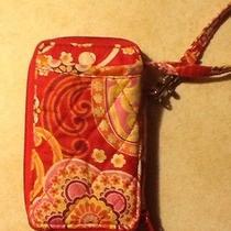 Vera Bradley Cell Phone Wristlet/wallet - Euc Photo