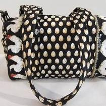 Vera Bradley Chanticleer Chicken Egg Pattern Shoulder Tote Handbag Photo