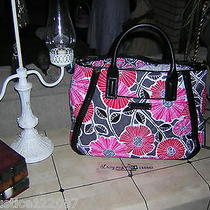 Vera Bradley Cheery Blossoms Trapeze Tote    Nwt  Retired Photo
