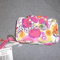 Vera Bradley Clementine Smartphone  Iphone 5 5s Wristlet Wallet--New Photo