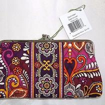 Vera Bradley Clutch Wallet Double Kisslock - Safari Sunset - New With Tag Photo