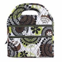Vera Bradley Cocoa Moss Lunch Tote Bag New Photo