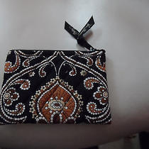 Vera Bradley Coin Purse in Retired Caffe Latte Pattern   Photo