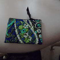 Vera Bradley Coin Purse in Retired Rhythm and Blues Pattern   Photo