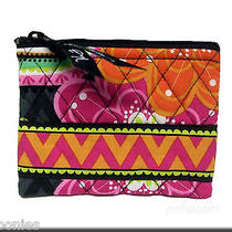 Vera Bradley Coin Purse - Ziggy Zinnia Pattern Nwt Photo