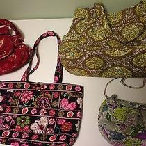 Vera Bradley Collection of 4 Handbags Photo