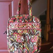 Vera Bradley Computer Backpack - Floral Paisley With Pockets Photo