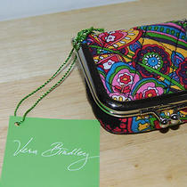 Vera Bradley Contact Case in Symphony in Hue New W/tags   Free Shipping Photo