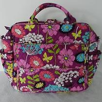 Vera Bradley Convertible Baby Bag Diaper With Changing Pad in Flutterby Nwt Photo