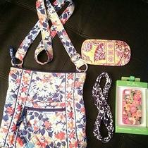 Vera Bradley Crossbody Summer Cottage Iphone 4 4s Case  Headband Eye Glass Case  Photo