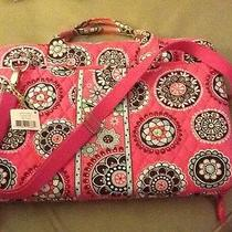 Vera Bradley Cupcake Pink Retired Work Laptop Portfolio Computer Case  Photo