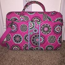 Vera Bradley Cupcakes Pink Hard Case Computer Laptop Bag 17