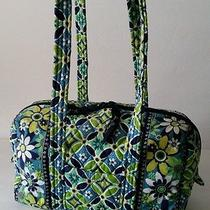 Vera Bradley Daisy Daisy Small Duffle Bag Purse Very Good Condition  Photo