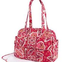 Vera Bradley Diaper / Baby Bag   in Rosy Posies  Brand New With Tags Photo